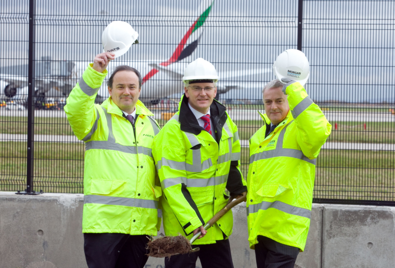 Airport's Control Tower Breaks New Ground