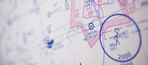 We create any maps or charts required for a procedure design contract.