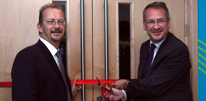 MP opens Swanwick viewing gallery