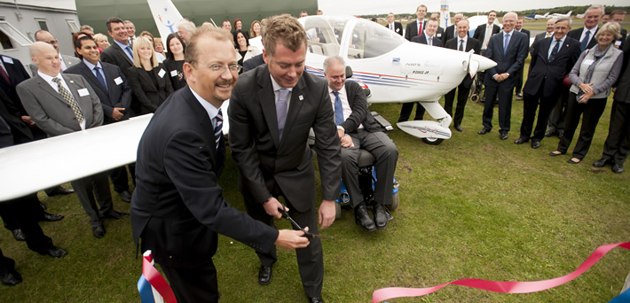 NATS and Aerobility unveil new aircraft