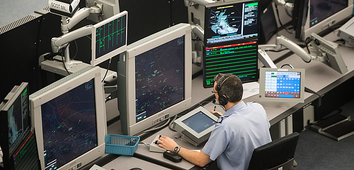 UK airspace 'open for business' despite threat of strikes