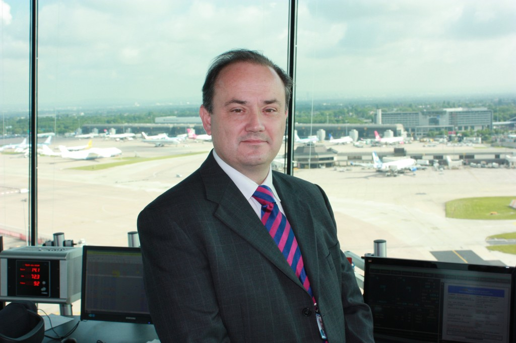 Paul Jones, NATS General Manager at Manchester Airport