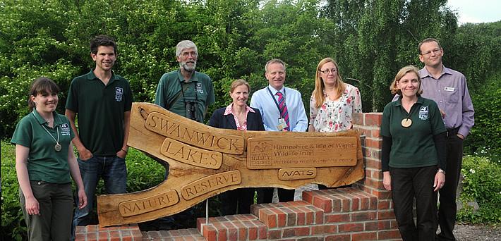 NATS celebrates 20th anniversary of Swanwick Reserve