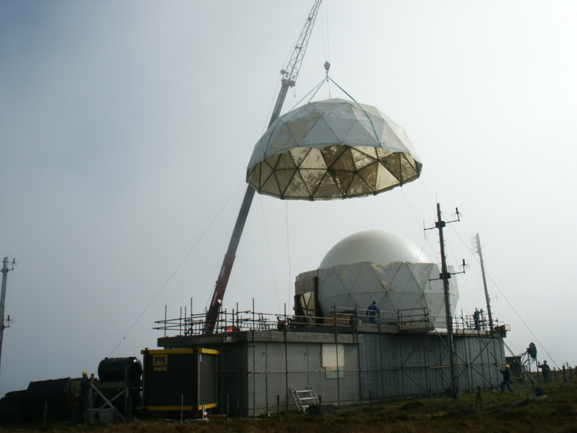 Programme to replace UK radar network complete