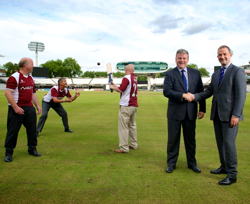 NATS sponsors Combined Services Cricket tour of India