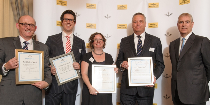 NATS employees honoured by Royal Aero Club