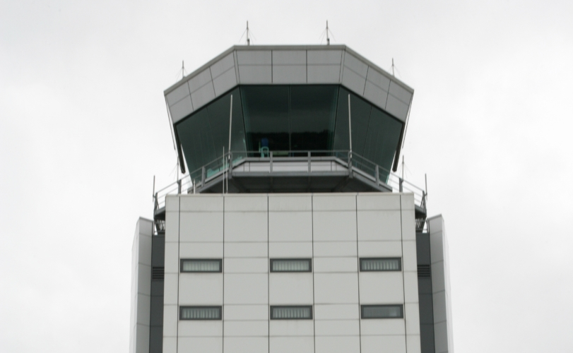 The future of air traffic control comes first to Bristol Airport