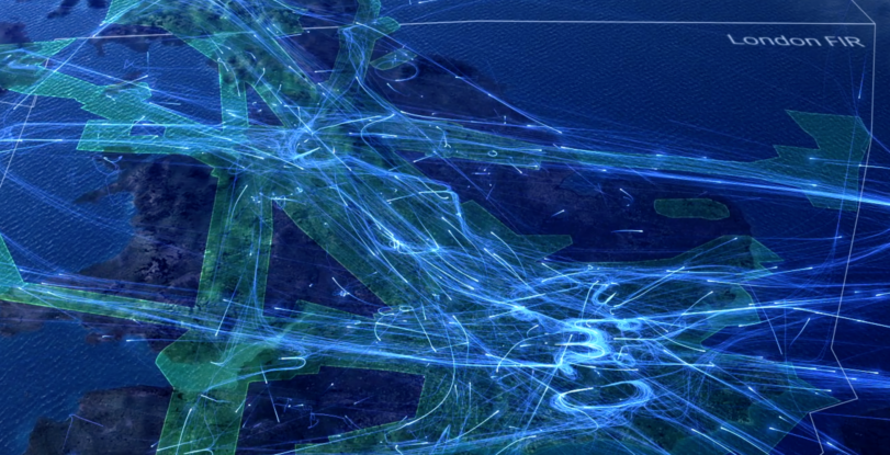 Take a guided tour around UK airspace