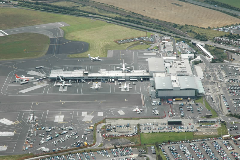 New runway technology at Newcastle Airport