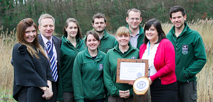 NATS recognised with wildlife award