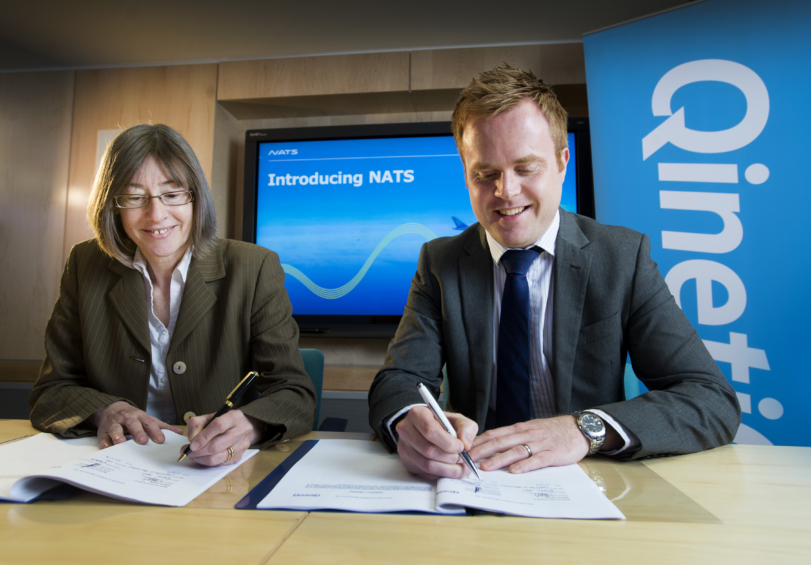 NATS secures QinetiQ contract renewal