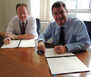 BIA MD and NATS CEO sign the contract on 7 July