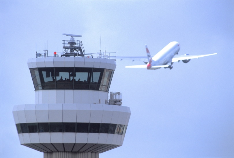 Controllers at Gatwick beat their own record