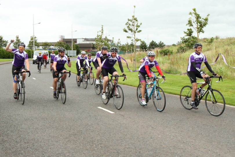 £7,500 raised in 500 mile charity bike ride in five days