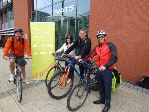 NATS cyclists on Cycle to Work Day