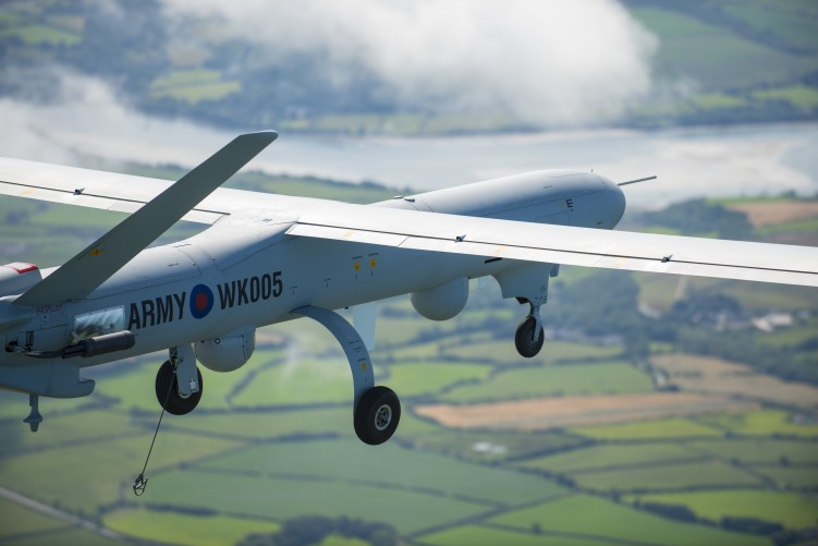 Unmanned aircraft flies in UK civil airspace