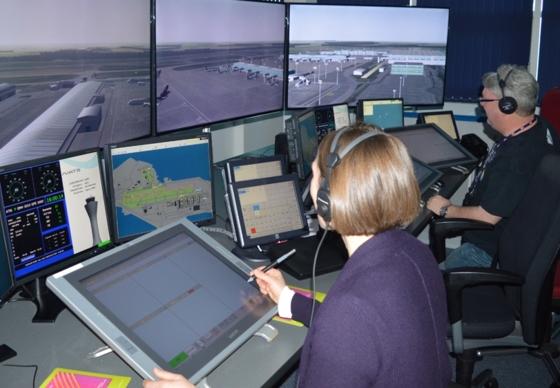 New simulator training facilities at Stansted