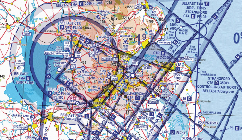 CAA backs Belfast airspace reclassification