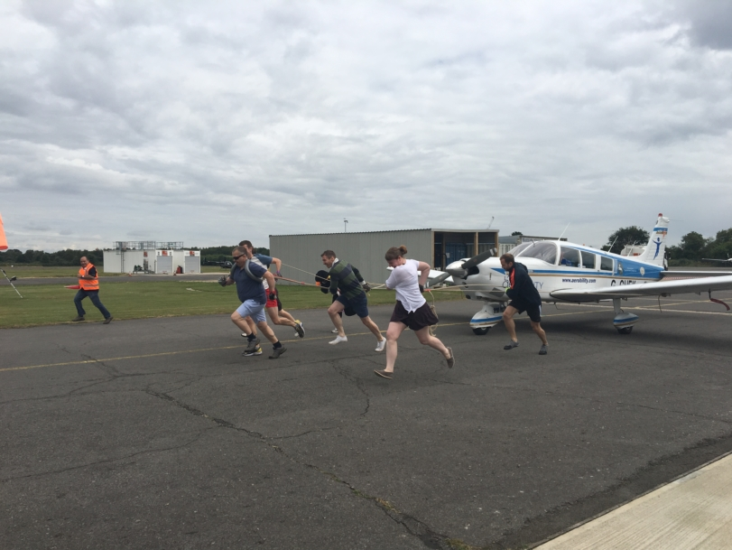 NATS raises £6,500 for Aerobility charity
