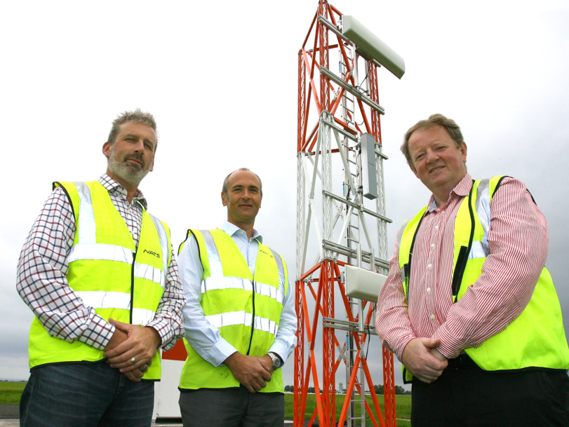 Hi-tech Instrument Landing System swings into action at Belfast International Airport