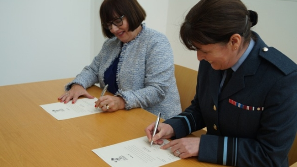 NATS sign Armed Forces Covenant with the MOD