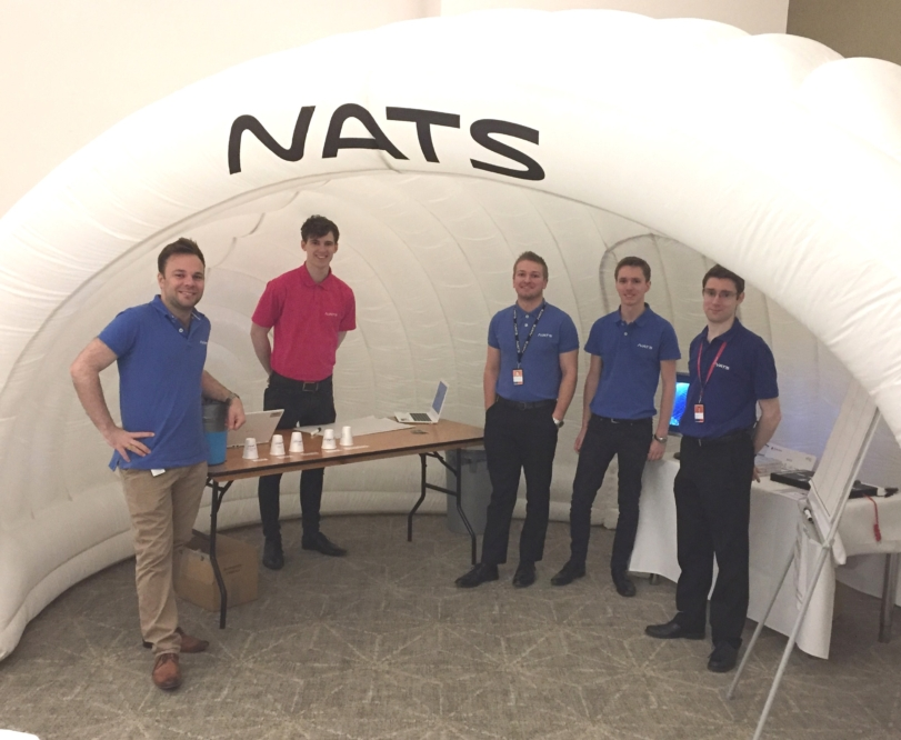 NATS inspire next generation of air traffic controllers