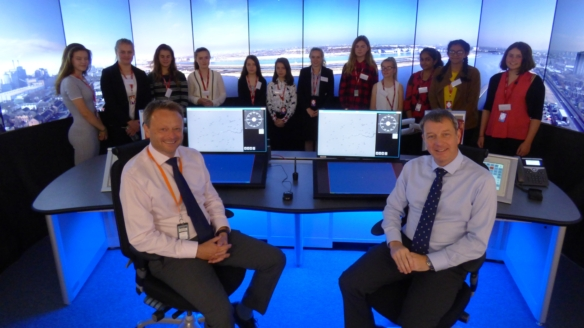 Air traffic control hosts 'Bring Your Daughter to Work Day'
