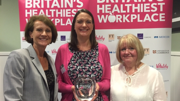 NATS recognised as healthy workplace