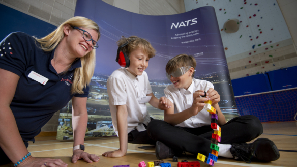 JET takes off in Hampshire at NATS inspiration day