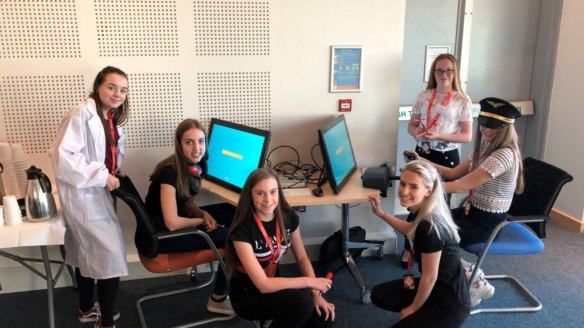 Prestwick air traffic control centre hosts annual 'Bring Your Daughter to Work Day'