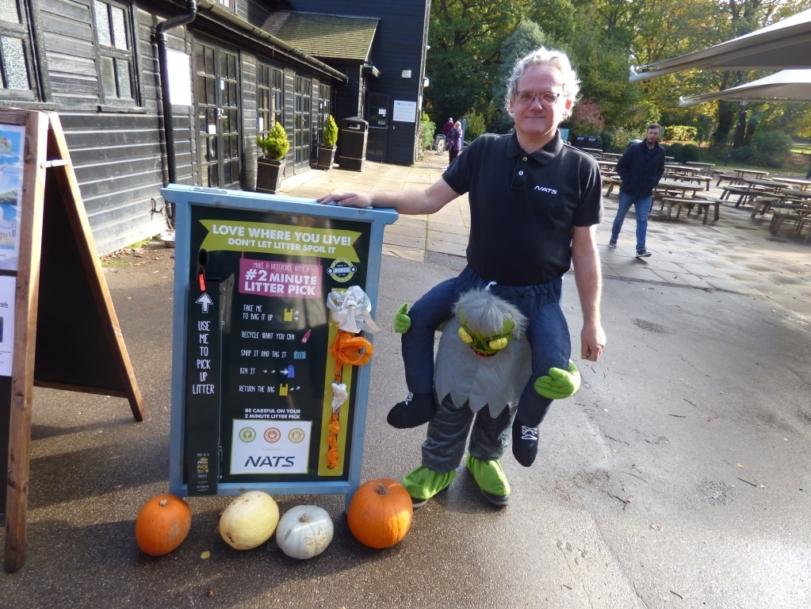 NATS sponsor Southampton's first litter picking station