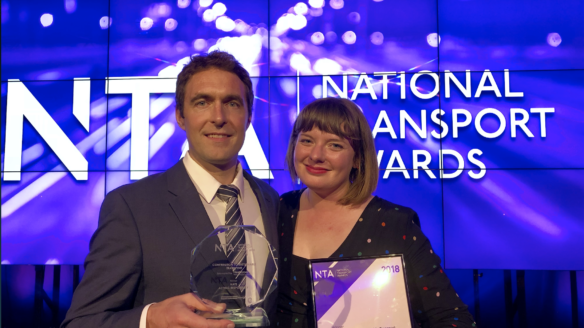 NATS scoops prize for sustainable transport
