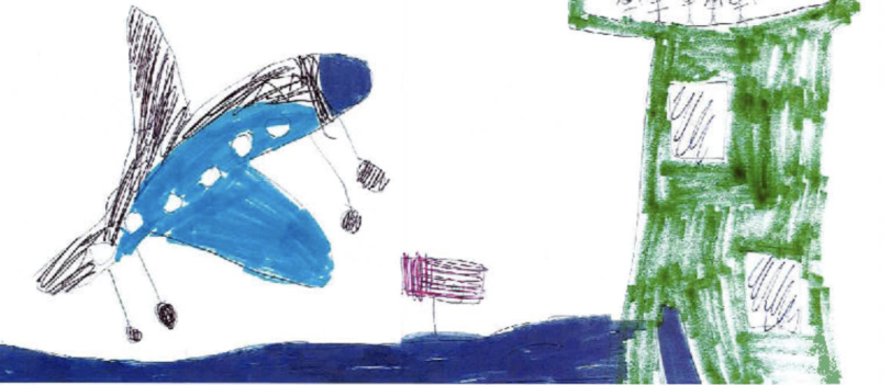 Kids draw the funniest things: what air traffic controllers' kids think mum and dad do at work