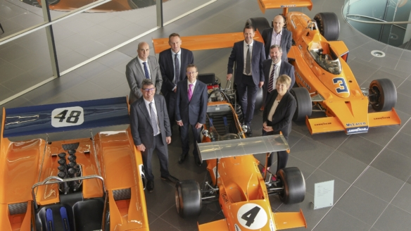 NATS and McLaren Deloitte announce new collaboration