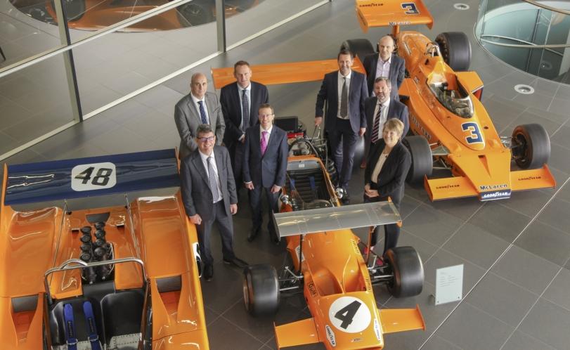 NATS and McLaren Deloitte announce new collaboration