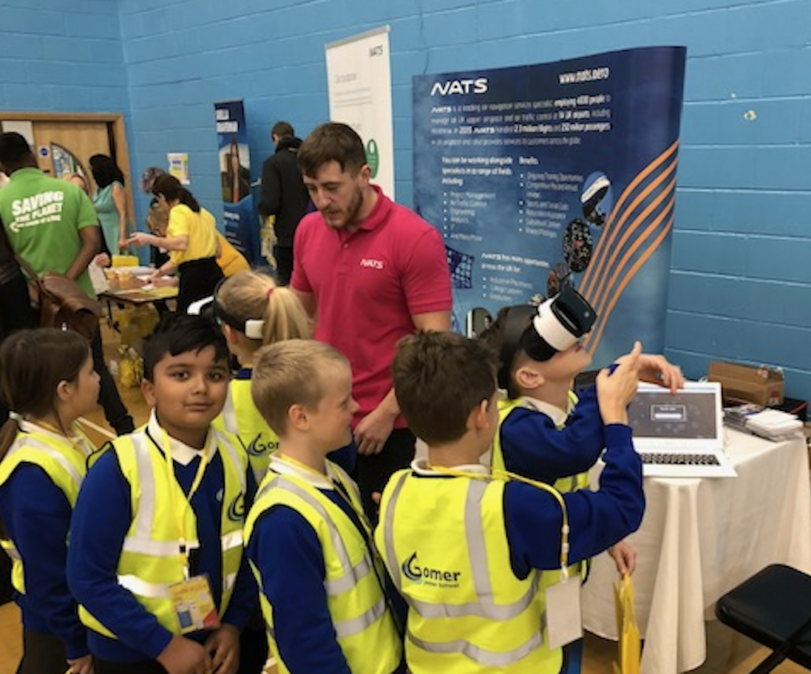 NATS inspires children at local engineering event