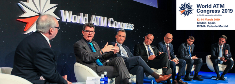 Pioneering partnerships take centre stage with NATS at World ATM Congress 2019