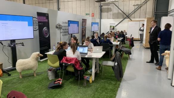 NATS hosts cyber security challenge for school girls